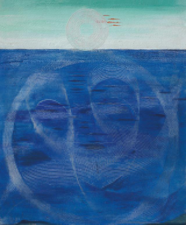 Max Ernst (German, 1891-1976), La Mer [The Sea], 1926..jpg