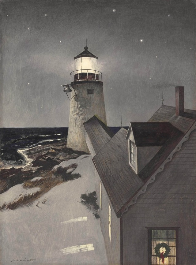 Andrew Wyeth (American, 1917-2009), Snowy Morning, c.1947.jpg