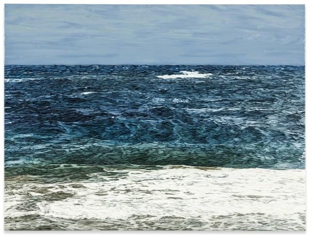 Axel Kasseböhmer (German, b. 1952), Meereslandschaft 8 [Seascape 8], 2003.jpg