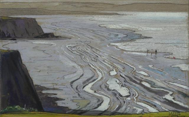Edward Loxton Knight (British, 1905-1993), Low Tide.jpg