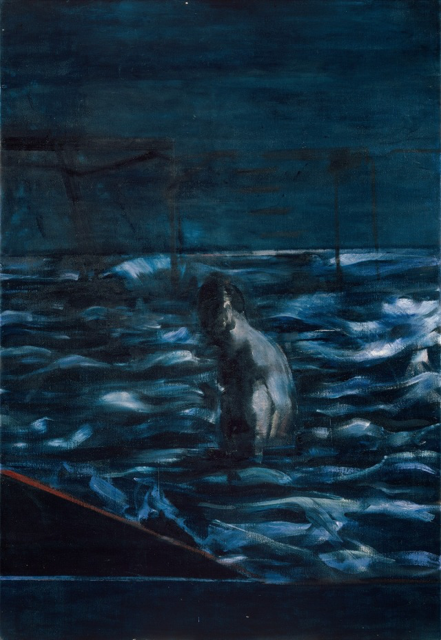 Francis Bacon (British, 1909-1992), Figure in Sea, c.1957..png