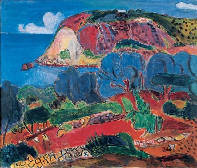 Hans Purrmann (1880-1966), Coastal Landscapes near Lacco Ameno (1956.jpg