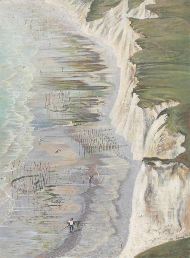 Leonid Berman (Russian, 1896-1976), Côte dieppoise Dieppe Coast, 1938.jpg