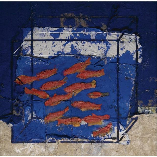 Manolo Valdés (Spanish, b. 1942), La Pescera V [Fish Tank V], 1998..jpg