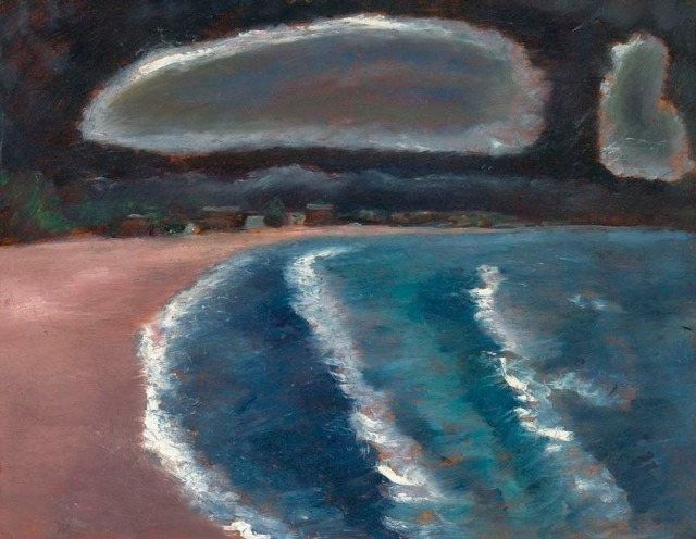 Marsden Hartley (American, 1877–1943), Storm down Pine Point Way, Old Orchard Beach, 1941-43.jpg