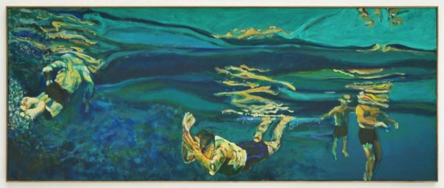 Norbert Tadeusz (German, 1940-2011), Cala Minora I, 2003..jpg
