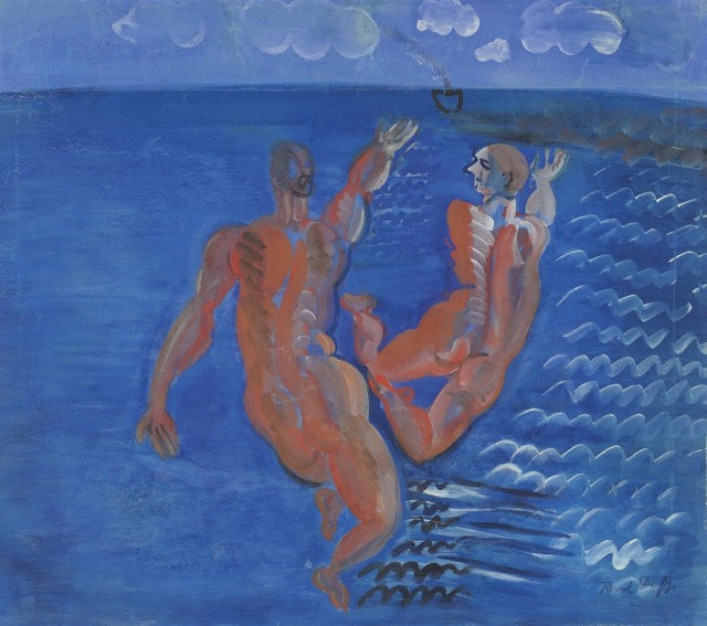 Raoul Dufy (French, 1877-1953), Baigneuses [Bathers], 1925.jpg