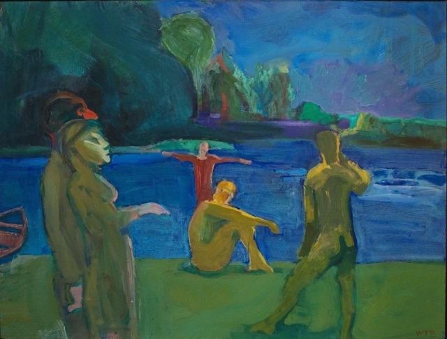 Theophilus Brown (American, 1919-2012), Bathers, 1964..jpg