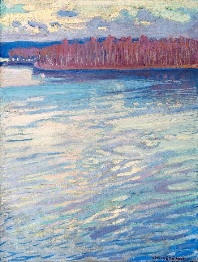 Väino Hämäläinen (Finnish, 1876-1940), Glittering Water, 1911.jpg