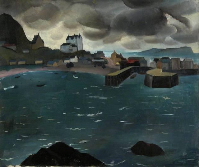 William Gillies (British, 1898-1973), Mallaig, c.1928.jpg