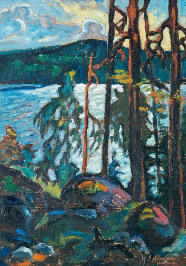 Yrjö Saarinen (Finnish, 1899-1958), View over the Lake, 1928–29.jpg