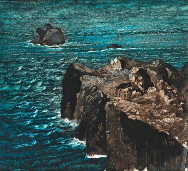 Roj Friberg, Klippa Crag, 1992..jpg